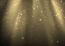 Light Rays And Light Dust Royalty Free Stock Photography