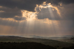 Light rays Stock Photography