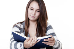 Light reading Stock Image