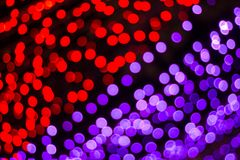 The light red bokeh blurred abstract light background royalty free stock photos
