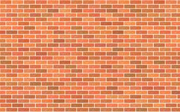 Light red and brown brick material textured retro wall background. Light red and brown brick material texture retro wall background stock illustration