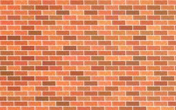 Light red and brown brick material textured retro wall background. Light red and brown brick material texture retro wall background vector illustration