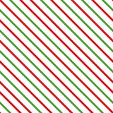 Light red green Merry Christmas color decorative diagonal background made from lines. Vector seamless pattern Royalty Free Stock Images