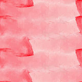Light red watercolor seamless Royalty Free Stock Photo