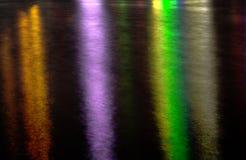 Light reflection on lake Stock Images