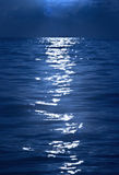 Light reflection on rippling water Stock Images