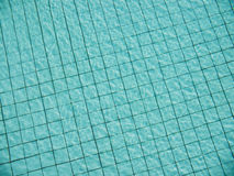 Light reflection on water surface of swimming pool Stock Photography