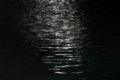light reflects on water surface Royalty Free Stock Images