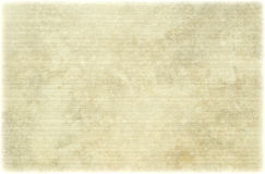 Light ribbed antique parchment. Background with faded edge stock photo