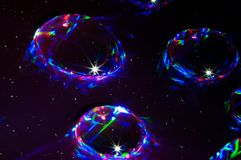 Space halo`s royalty free stock images