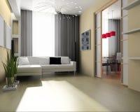 Light room. Modern 3 d exclusive design Stock Photo
