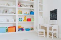 Light room for children. Light and spacious room for the children Stock Image