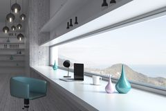 Light room interior design Stock Image