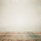 Light room or space with wooden floor. Vintage interior. Stock Photos
