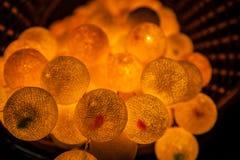 Light round lamp Royalty Free Stock Photos
