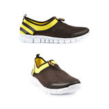 Light running sport shoes isolated Royalty Free Stock Images
