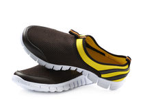 Light running sport shoes isolated Royalty Free Stock Photo