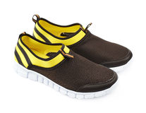 Light running sport shoes isolated Stock Photo