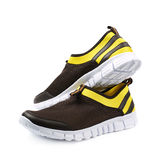 Light running sport shoes isolated Stock Image