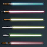Light sabers Royalty Free Stock Photos
