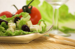 A light salad Royalty Free Stock Photo