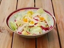 Light salad dinner Royalty Free Stock Photo