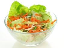 Light salad, isolated Stock Photos