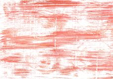 Light salmon pink abstract watercolor background Royalty Free Stock Images
