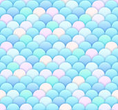 Light Scale Seamless Pattern Stock Images