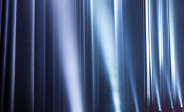Light from the scene during the concert Royalty Free Stock Photo