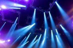 Light from the scene during the concert. Light from the scene, a rock concert Royalty Free Stock Photos