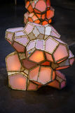 Light Sculpture Stock Image