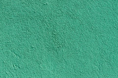 Light sea green plaster wall with old texture Stock Photos