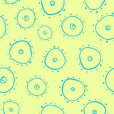 Light seamless pattern with bacterium Stock Photography