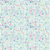 Light Seamless Pattern of Triangles Royalty Free Stock Photos