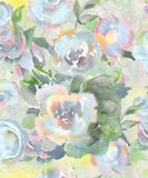 Festive light seamless pattern of water colors in pastel colors for wallpaper, fabrics and paper. Light seamless pattern of water colors in pastel colors for Royalty Free Stock Photography