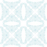 Light seamless vector pattern - white and blue Stock Images