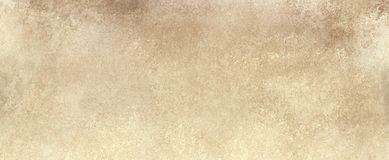 Light sepia brown paper background with vintage grunge or sponged paint texture with soft beige grungy stains stock illustration