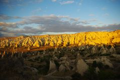 Light and shade Cappadocia View Stock Image