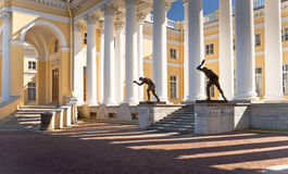 Light and shade of classical building Royalty Free Stock Photography