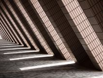 Light and Shadow Building in Hong Kong stock photos