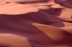 Light and shadow in the desert Royalty Free Stock Photography