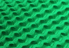 Light and shadow in green. Zigzag pattern in green (wrapping material Royalty Free Stock Images