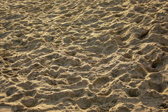 Light and shadow play in the sand Royalty Free Stock Photography