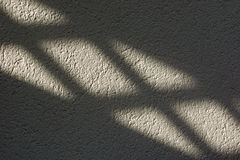 Light and shadow on the wall Royalty Free Stock Photos