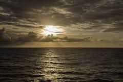 Light Shaft Sunset Stock Photography
