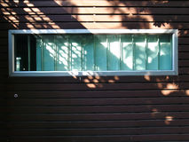 Light shines on windows Royalty Free Stock Image