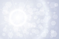 Light shining background. With flare. Vector Royalty Free Stock Image