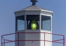 Light shining in Cape Spear lighthouse