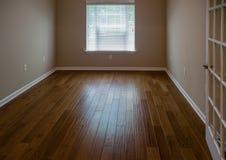 Light Shining on Hardwood Floor Royalty Free Stock Photos